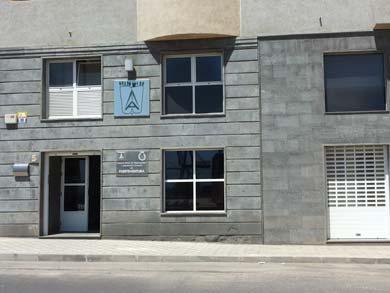 fachada del COAATFIEF