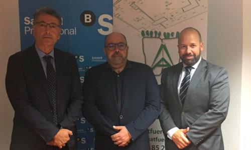 Acuerdo de colaboración entre Sabadell Professional y el COAATIEF